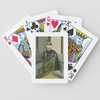Mahomet (Mehmed) IV (1642-93) Sultan 1648-87, from Bicycle Playing Cards