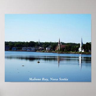 Mahone Bay, Nova Scotia Poster