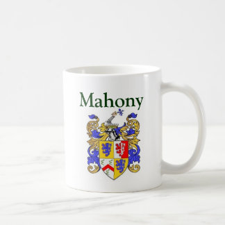 Mahony coat of arms mugs