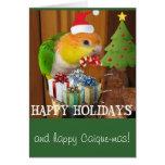 Maia Holiday Greeting Greeting Cards
