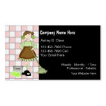 Maid Business Cards