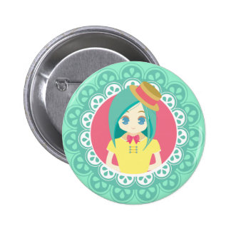Maid Cafe Button #01