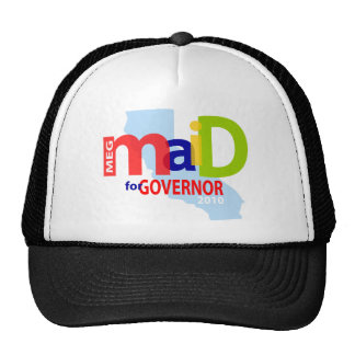 Maid for Governor Cap Trucker Hats