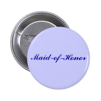 Maid-of-Honor 6 Cm Round Badge