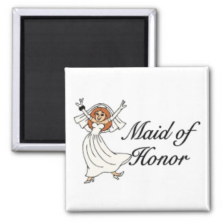 Maid Of Honor (Bride) Magnet