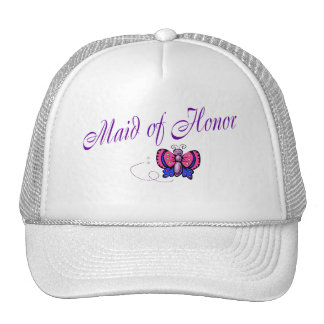 Maid Of Honor Butterfly Hat