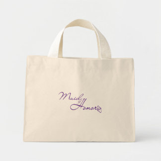 Maid of Honor Canvas Bags