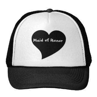 'Maid of Honor' cap Trucker Hat