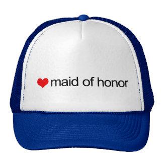 Maid of honor cap
