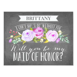 Maid Of Honor Card | Bridesmaid