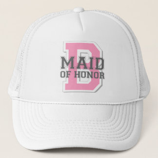 Maid of Honor Cheer Trucker Hat