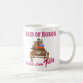 Maid of Honor Coffee Mug Wedding Party Gift