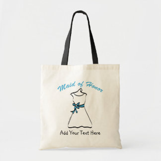 Maid of Honor Favors Canvas Bag