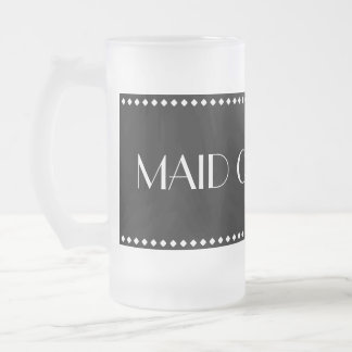 Maid of Honor Frosted Mug