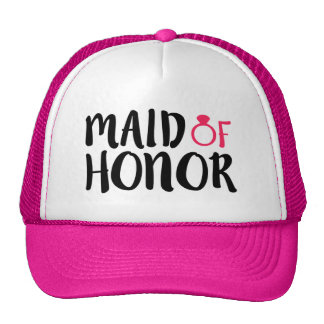 Maid of Honor funny hat