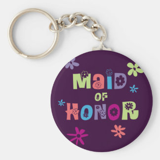 Maid of Honor Gifts and Favors Key Chain