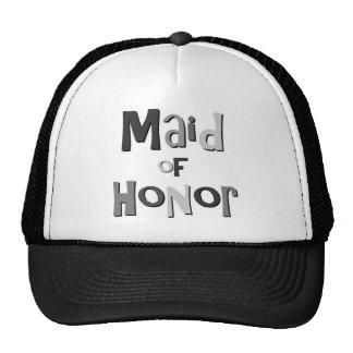 Maid of Honor Gray Cap