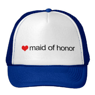 Maid of honor trucker hats