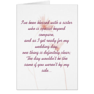 Maid Of Honor Invitation Greeting Card