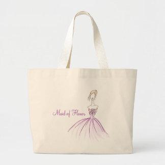 Maid of Honor Jumbo Tote Bag