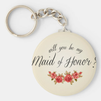Maid of Honor Key Ring