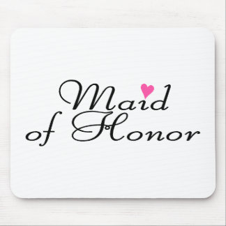 Maid Of Honor Mouse Mat
