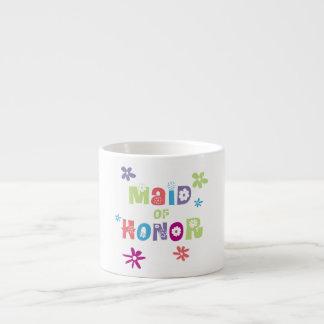 Maid of Honor 6 Oz Ceramic Espresso Cup