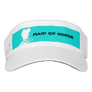 Maid of Honor or Bridesmaid Visor