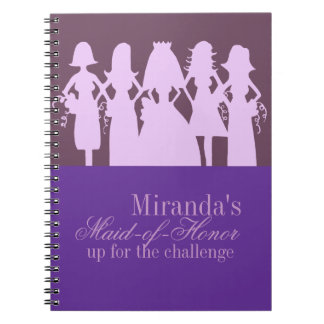 Maid-of-honor Planner Spiral Note Book