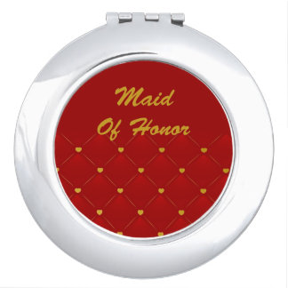 Maid Of Honor (red/gold) Mirrors For Makeup