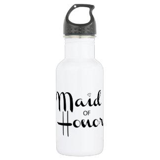 Maid of Honor Retro Script 532 Ml Water Bottle
