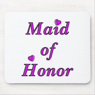 Maid of Honor Simply Love Mouse Pads