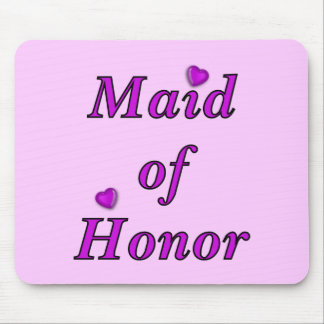 Maid of Honor Simply Love Mousepad