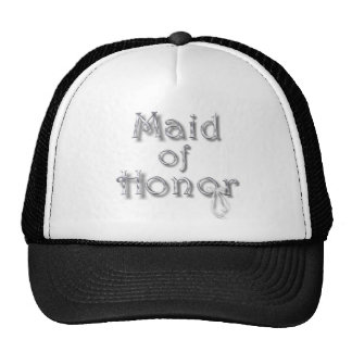 ♥ Maid of Honor ♥ Very Pretty Design ♥ Trucker Hats