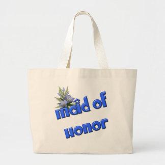 Maid Of Honor Wedding Bridal Tote Bag