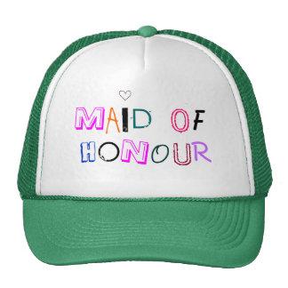 Maid of Honour cap Trucker Hat