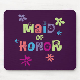 Maid of Honour Gifts and Favours Mouse Pad