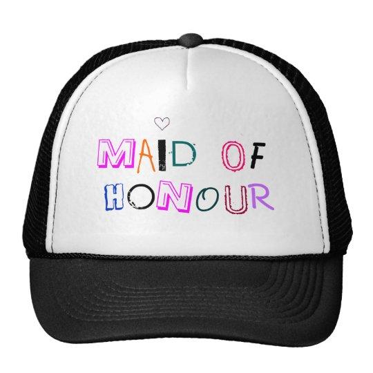 Maid of Honour hat