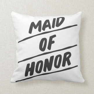 "Maid of Honour Pillow - 16"" square"