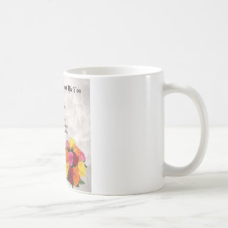 Maid of Honour Poem - Flowers design Coffee Mug