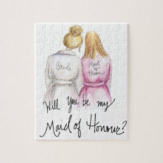 Maid of Honour? Puzzle Bl Bun Bride Bl Long Maid