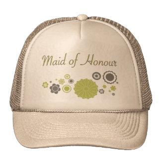 Maid of Honour Retro Design Trucker Hat