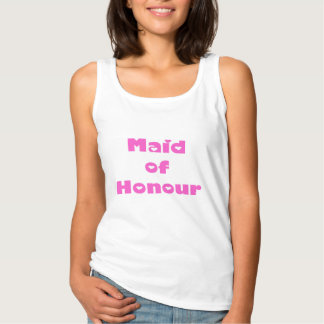 Maid of Honour Tank top tee