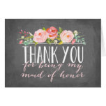 Maid of Honour Thank You | Bridesmaid Note Card