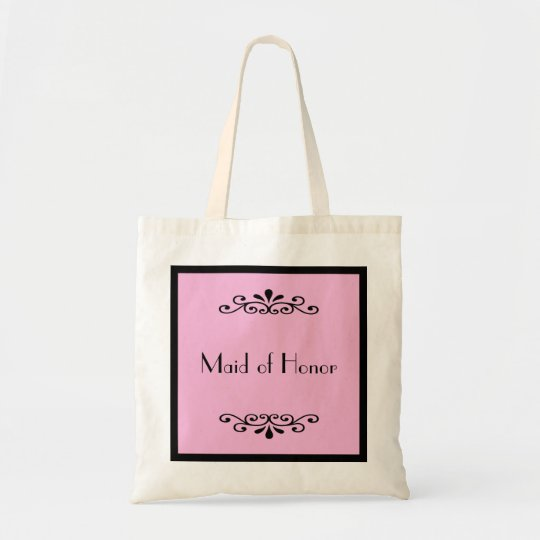 Maid of Honour Tote Bag -- Custom Colour
