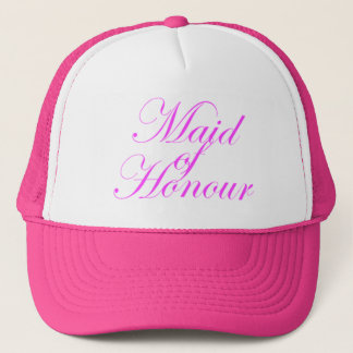 Maid of Honour Trucker Cap