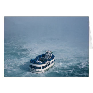 Maid of the Mist Close Up Niagara Falls, Canada Card