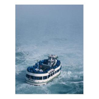 Maid of the Mist Close Up Niagara Falls, Canada Postcard