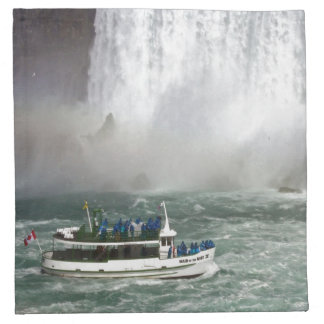 Maid Of The Mist Entering The Falls Napkin
