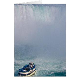 Maid of the Mist Rainbow Niagara Falls, Canada Greeting Card